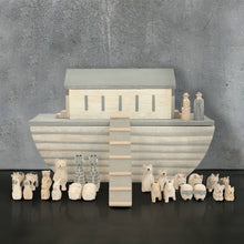Large Wooden Noah's Ark Set