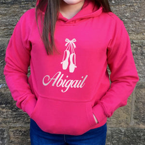 Children's Personalised Hoodie Ballet