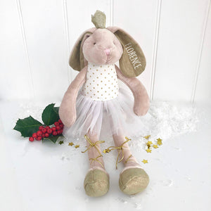 Personalised Rabbit Princess Toy