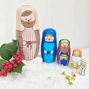 Christmas Stacking Nativity Decoration