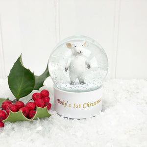 Baby's First Christmas Snow Globe