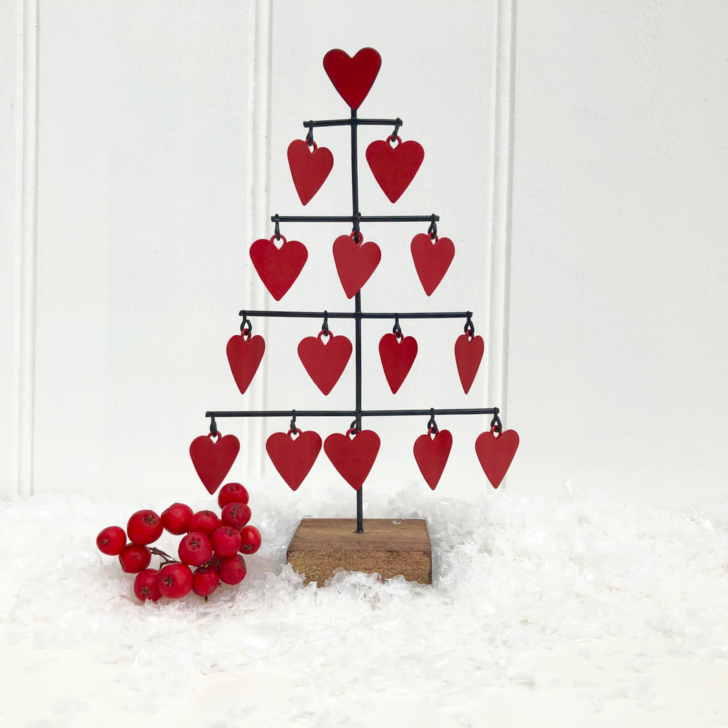 Christmas Love Heart Tree