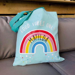 Personalised Colourful Tote bag