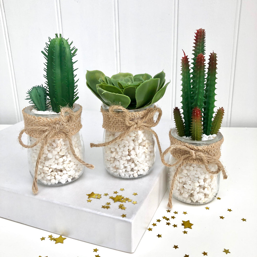 Artificial Plants Set Of Three
