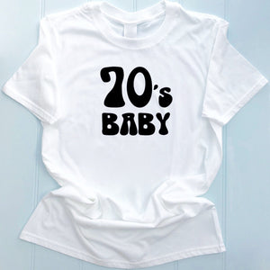 70's Inspired Womens Slogan Printed T Shirt