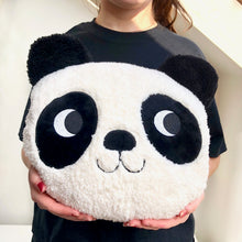 Large Fluffy Panda Cushion