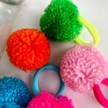 Tub Of Pom Pom Hair Bands
