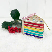Piece Of Cake Christmas Bauble