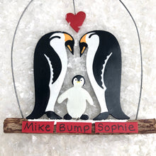 New Family Penguin Decoration