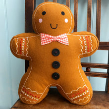 Gingerbread Man Cushion
