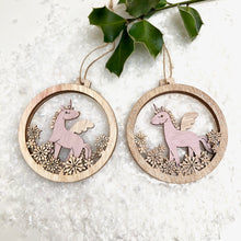 Unicorn Christmas Decoration