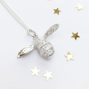 Sterling Silver Little Bumble Necklace