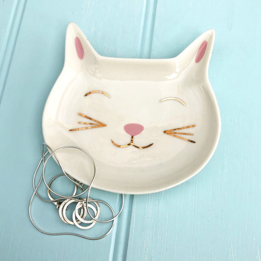 Cat Jewellery Dish