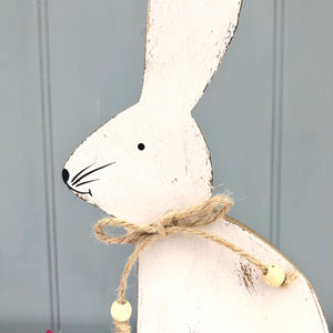 Personalised Wooden Rabbit