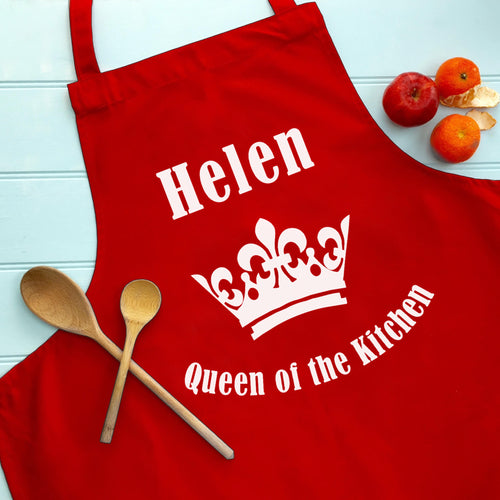 Adult Personalised Queen Apron