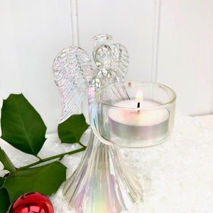 Christmas Angel T Light Holder
