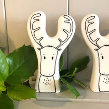 Ceramic Reindeer Decoration