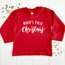 Personalised Baby's First Christmas T-Shirt