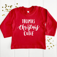 Personalised Christmas Baby T-Shirt