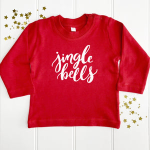 Christmas Jingle Bells Baby T-Shirt