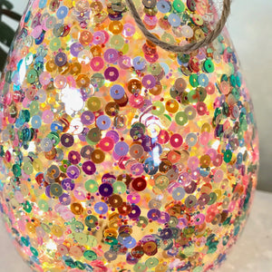 Personalised Colourful Light Up Bottle