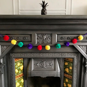 Pom Pom Multi Coloured Garland/Bunting