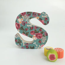 Wooden Large Letter Standing