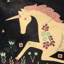 Velvet Unicorn Cushion