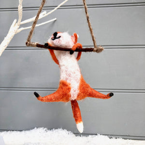 Felt Fox Decoration