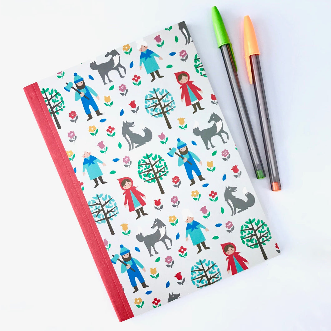 Red Riding Hood Notebook