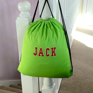 PE Sports Kit Bag for School