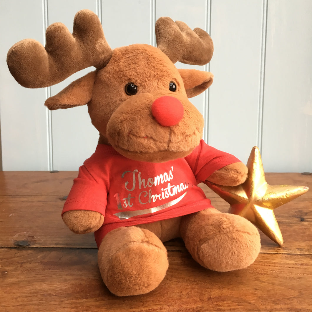 Personalised Christmas Rudolph
