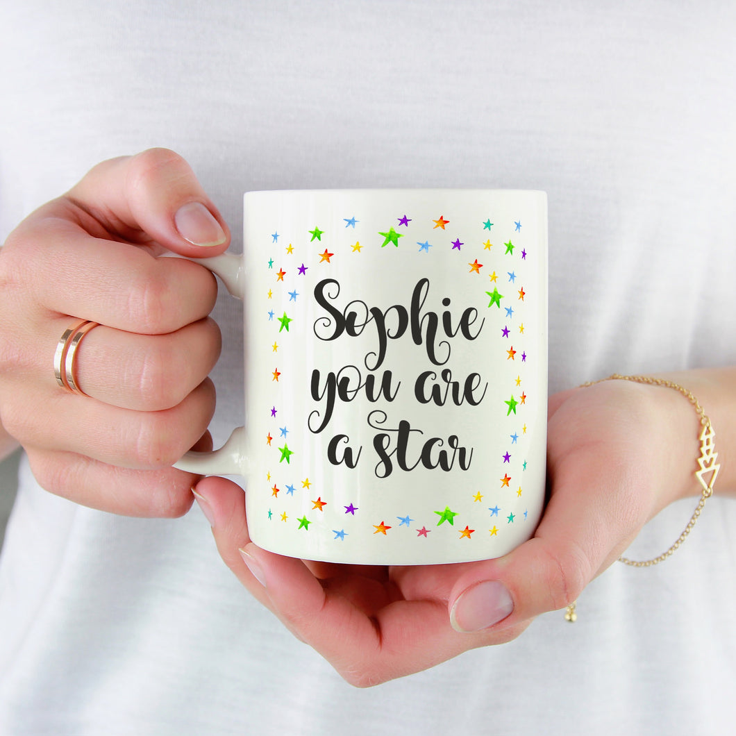 Personalised You Are A Star Mug