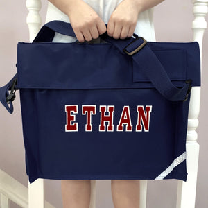 Personalised School Bag Varsity Name