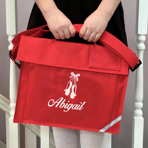 Personalised School Bag Ballet