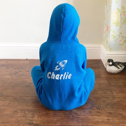 Personalised Rocket Onesie