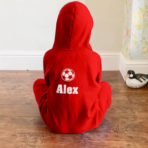 Personalised Football Onesie