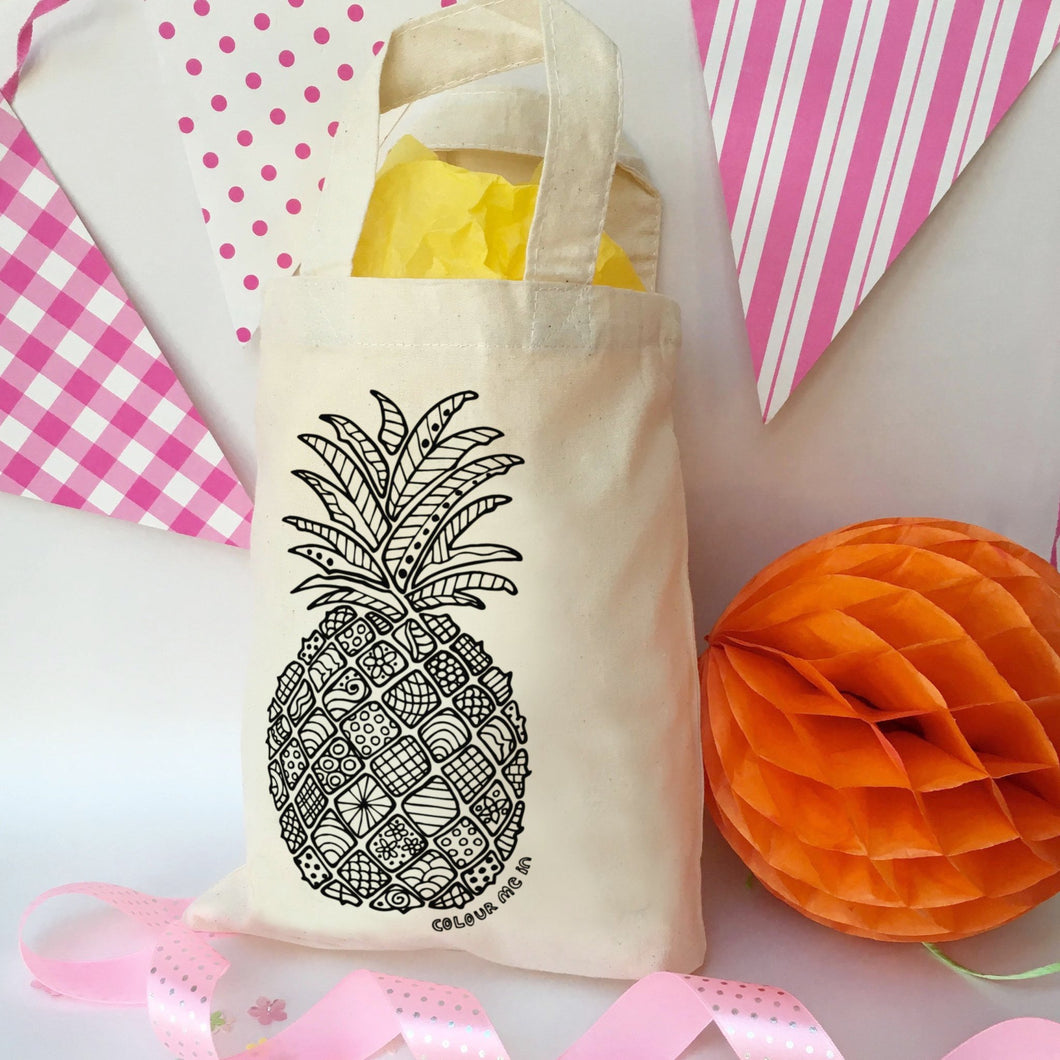 Pineapple Colour In Party Bag
