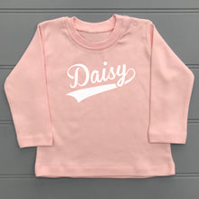 Personalised Baby T-Shirt Long Sleeve