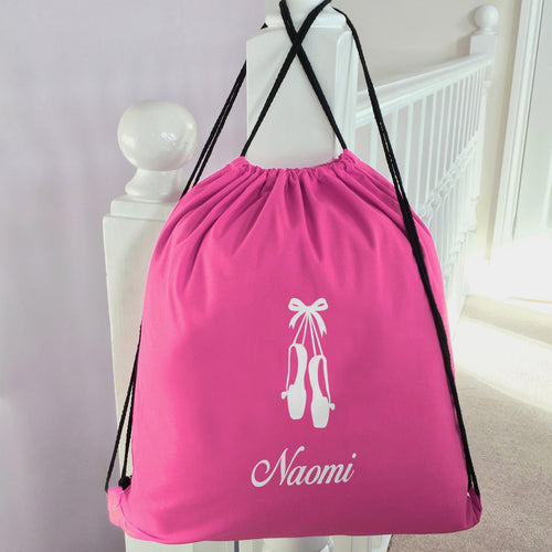 Personalised School PE Bag Ballet