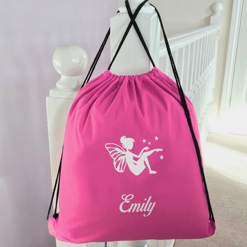 Personalised School PE Bag Fairy