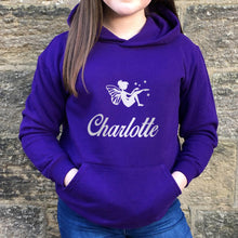 Children's Personalised Hoodie Fairy