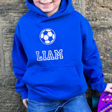 Children's Personalised Hoodie Football