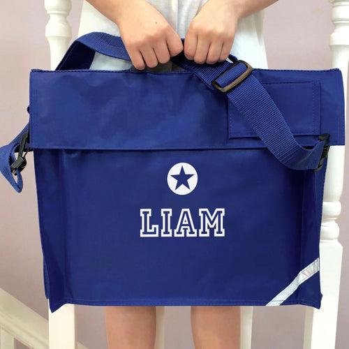 Personalised School Bag Star