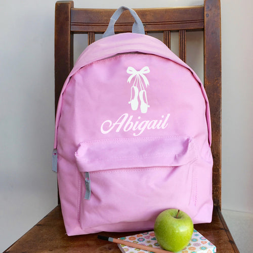 Personalised Ballet Backpack (Vinyl) with ANY NAME