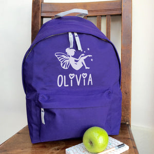 Personalised Fairy Backpack (Vinyl)