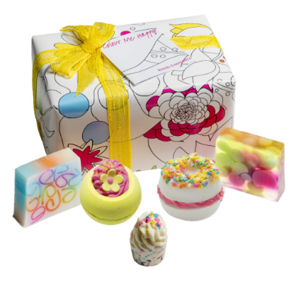 Bath Bombs And Soap Luxury Gift Set Colour