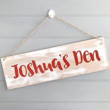 Personalised Children's Bedroom Sign