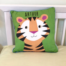 Personalised Tiger Cushion