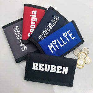 Personalised Children's Wallet